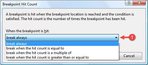 Breakpoint Hit Counter