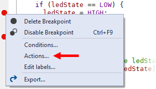 VS15 Context Menu Delete/Disable