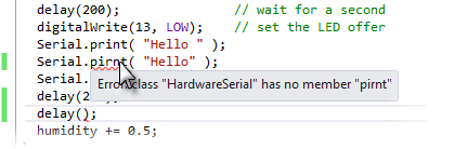 Intellisense Showing Error