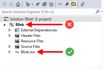 Solution Explorer Rename Files/Projects