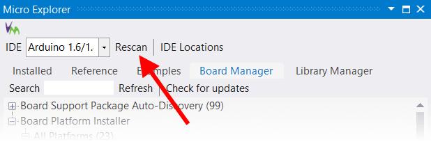 VM Explorer Configure Button