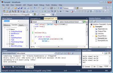 Скриншот Visual Studio