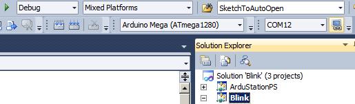 Arduino Visual Studio User Interface Images