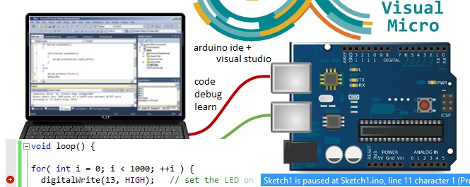 Visual studio and atmel for arduino