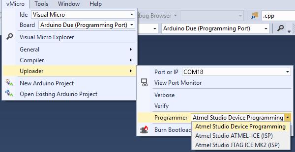 Arduino for Atmel Studio 7