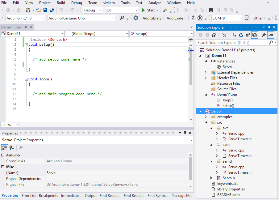Arduino IDE for Visual Studio