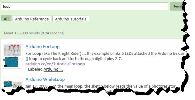 Arduino programming and Tutorials google search