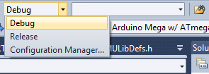 With the default automatic debugging mode you simply need to change from a Release configuration, add some break points and then press F5 to upload