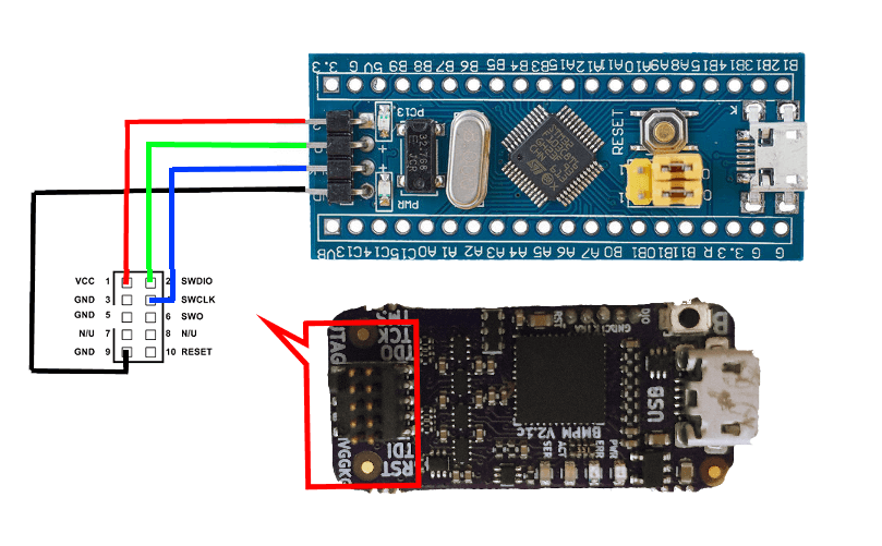 How to debug an STM32 with an Arduino project and GDB?