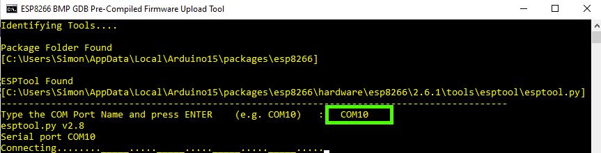 Command Prompt for BIN Flasher Script