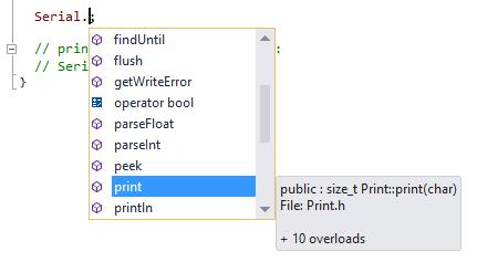 Arduino IDE for Visual Studio