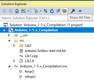 VS Solution Explorer - Show All Files