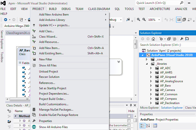 VisualStudio2012ShowAllArduinoFiles.png