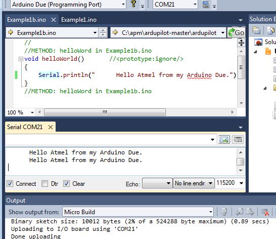 Visual Studio Ide for Arduino - Print Page