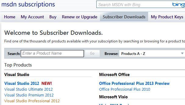 Msdn Subscriber Download Site - beardphysics
