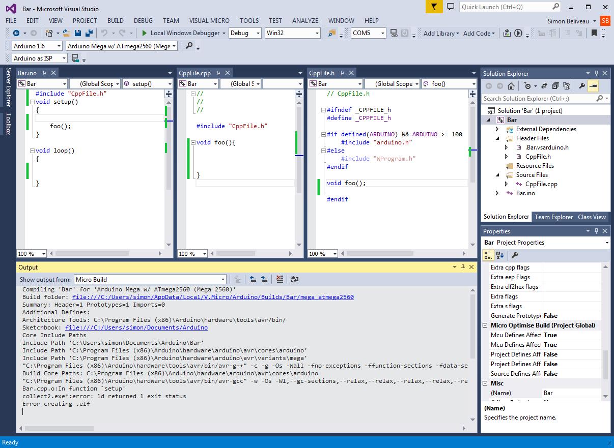 Arduino Debug Tool Microsoft Visual Studio